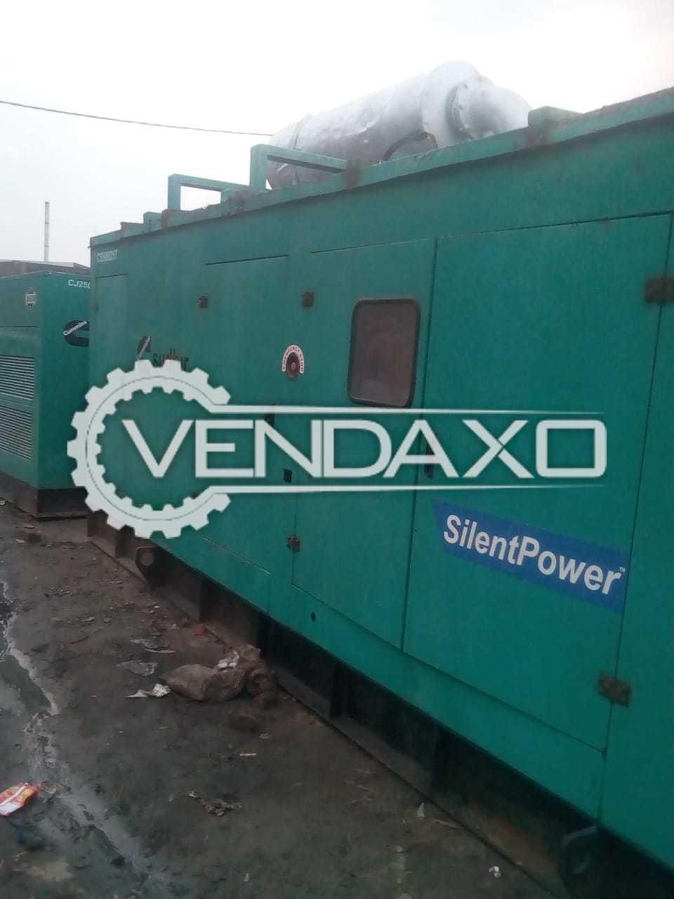 Cummins Silent Diesel Generator - 500 kVA