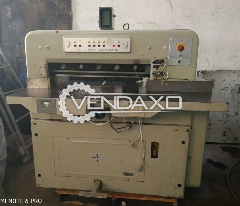 POLAR MOHR 72 CE Paper Cutting Machine - 28 Inch, 1977 Model