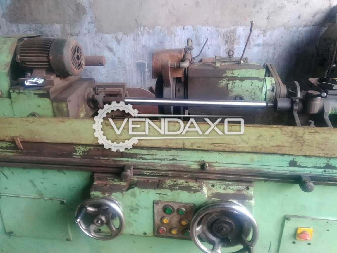 Cylindrical grinding machine  4