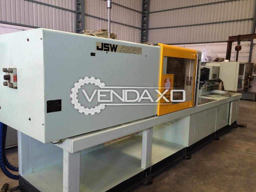 JSW J220E-P Injection Moulding Machine - 220 Ton