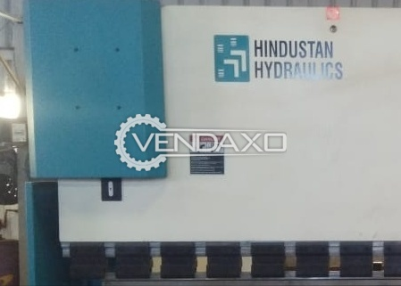 Used Hindustan Hydraulic Press Brake Machine - 110 Ton And