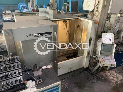 Deckel Maho DMC103V Vertical Machining Center - Spindle speed max. 10000 RPM