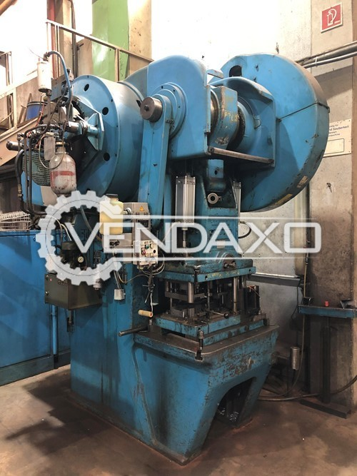 Schuler PEDR 160/400 Eccentric Press Machine - 160 Ton