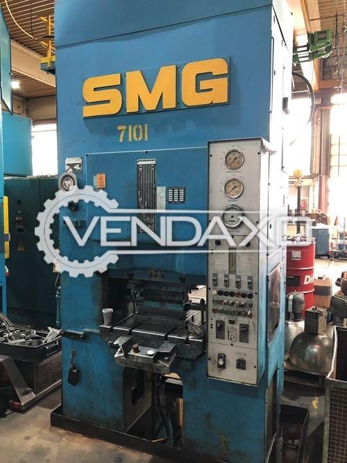 SMG DS100 Double Column Hydraulic Press Machine - 100 Ton