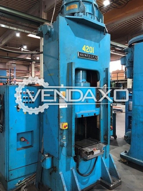 Weingarten PS160 Double Column Spindle Friction Press Machine - 250 Ton