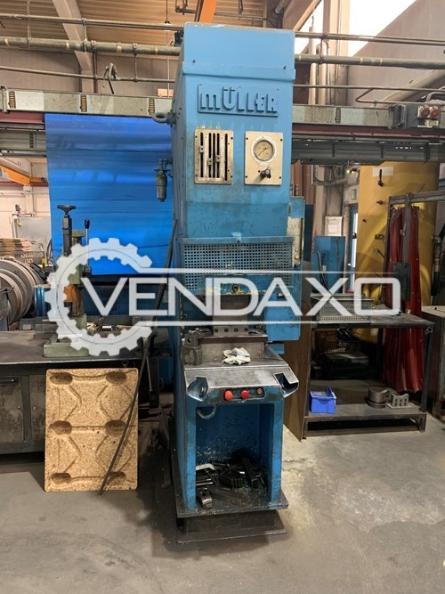 Muller-Weingarten C40.1.100-S C-type hydraulic Press Machine - 40 Ton