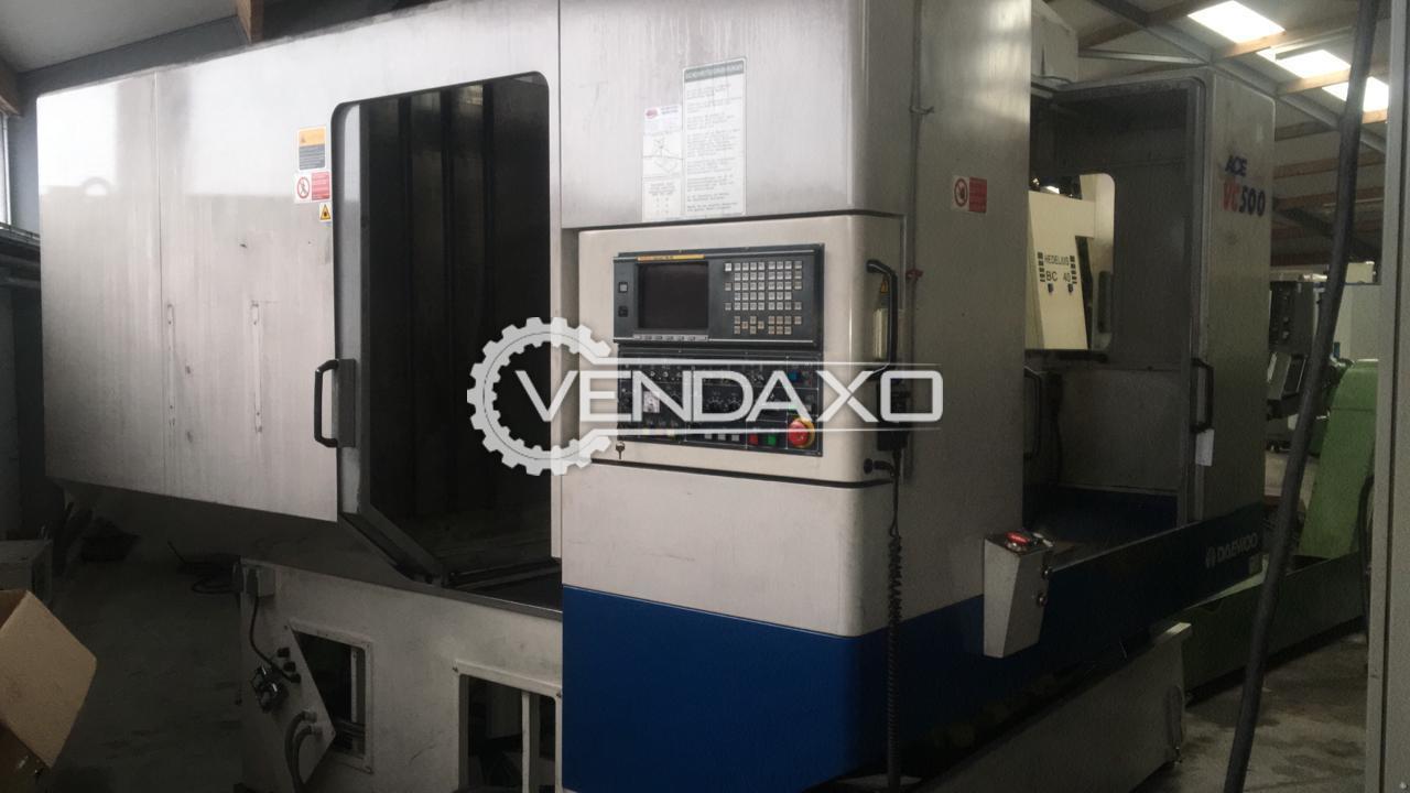 Daewoo ACE500 Vertical Machining Center - 8000 RPM