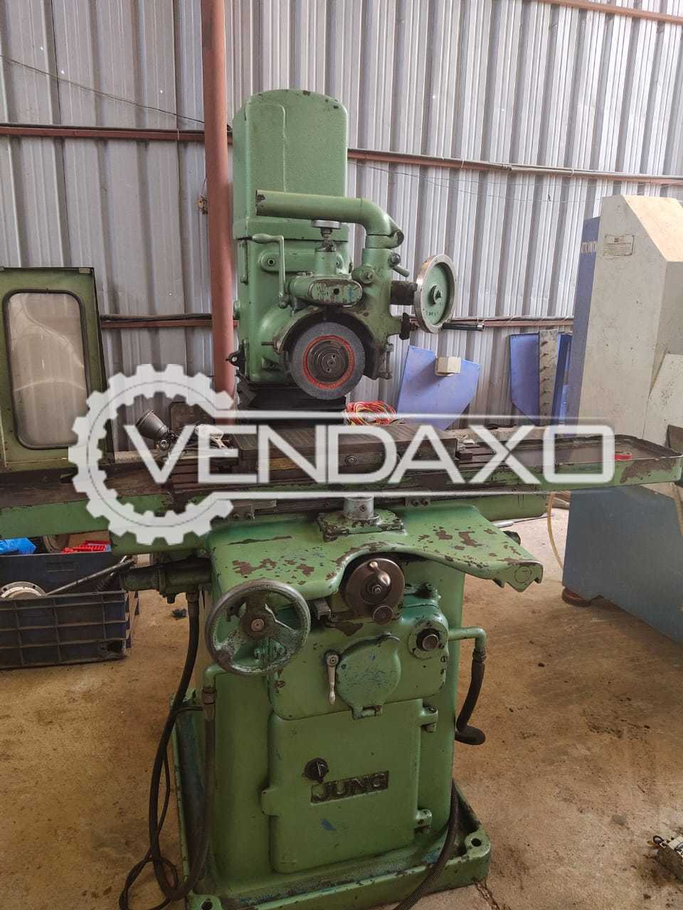 Jung Surface Grinding Machine - Table Size - 300 x 150 mm