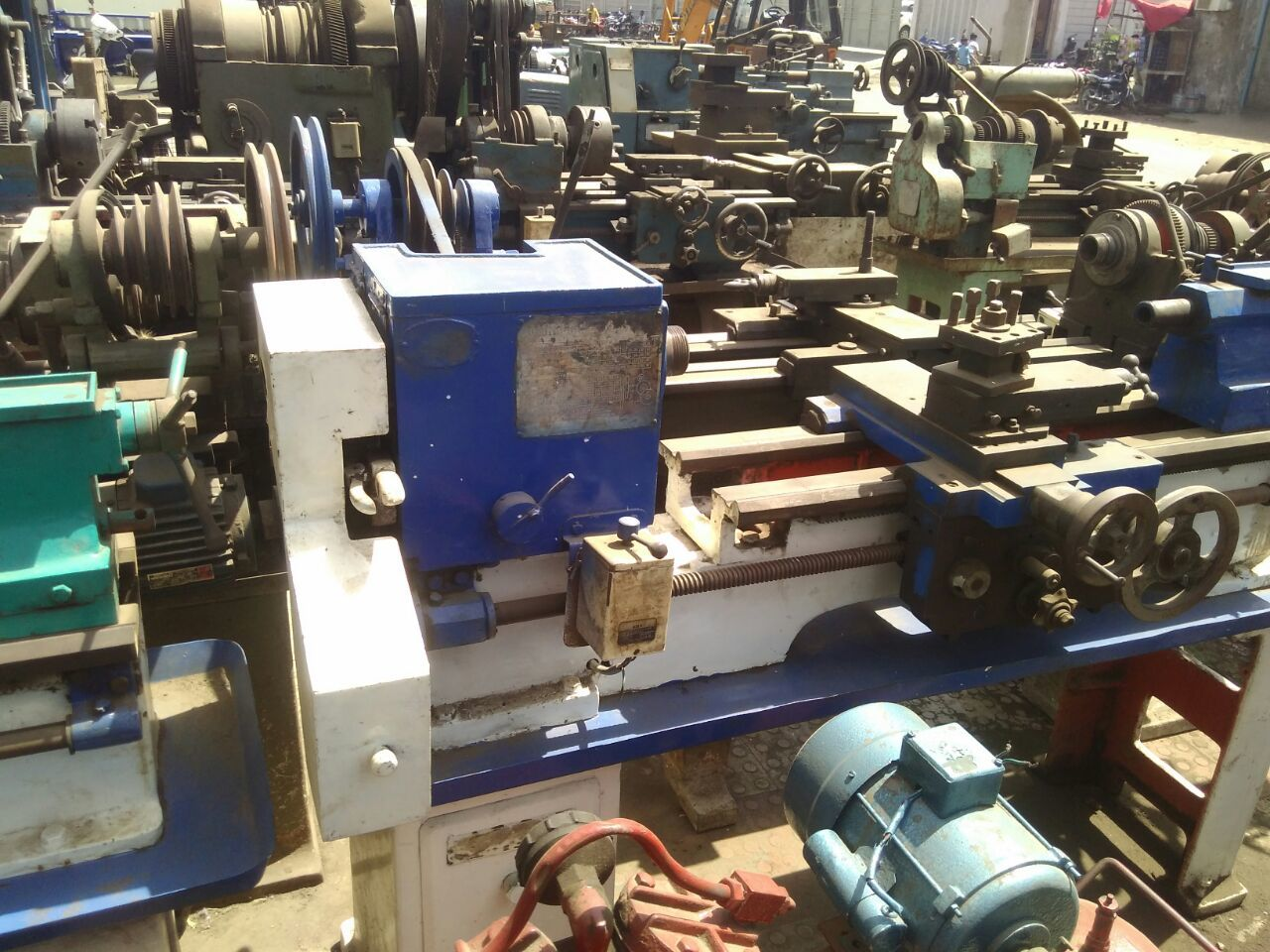 Lathe machine jamnagar done