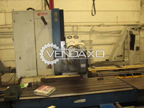 Bed milling machine 500x500