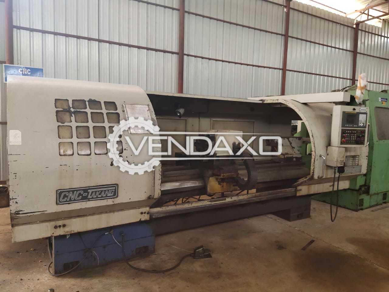 Takang CNC Heavy Duty Lathes Machine - 660x2000 mm
