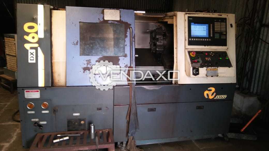 JYOTI DX-160 CNC Turning Center - Chuck Diameter - 200 mm