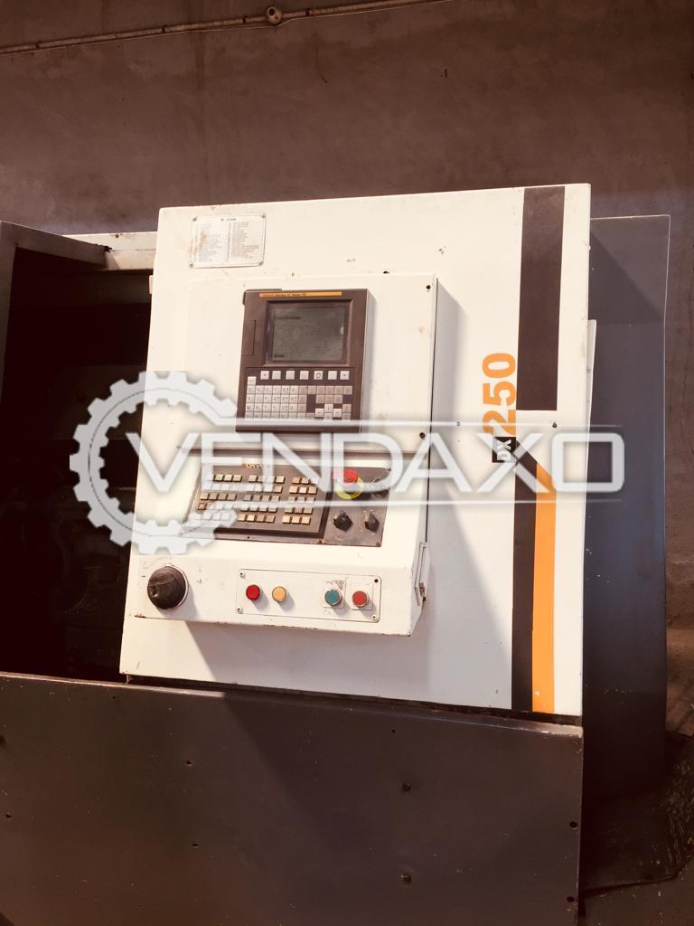 Jyoti Make DX250 CNC Turning Machine -  Length 1000 mm