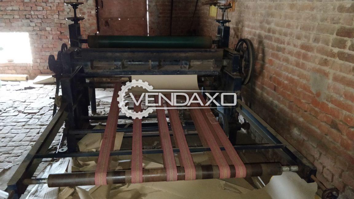 Bearing mounted e flute type corrugation machine 3
