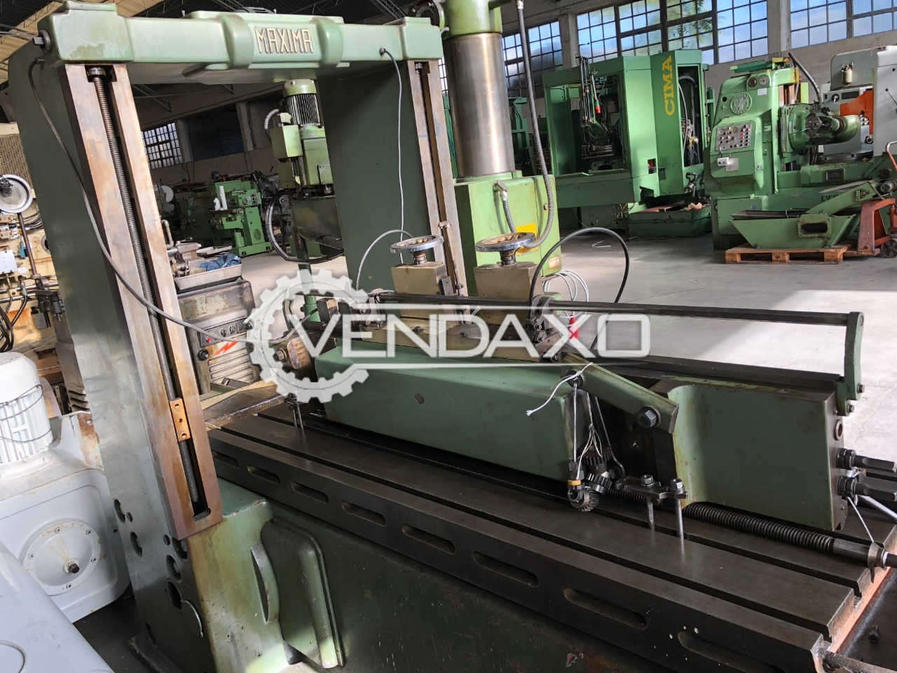 Maxima Planner Machine -  Table size : 700 x 2000 mm
