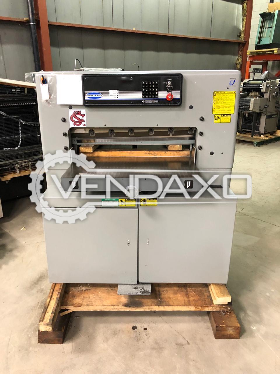 2 Set Of Challenge 305 Paper Cutting Machine - Size - 30.5 Inch
