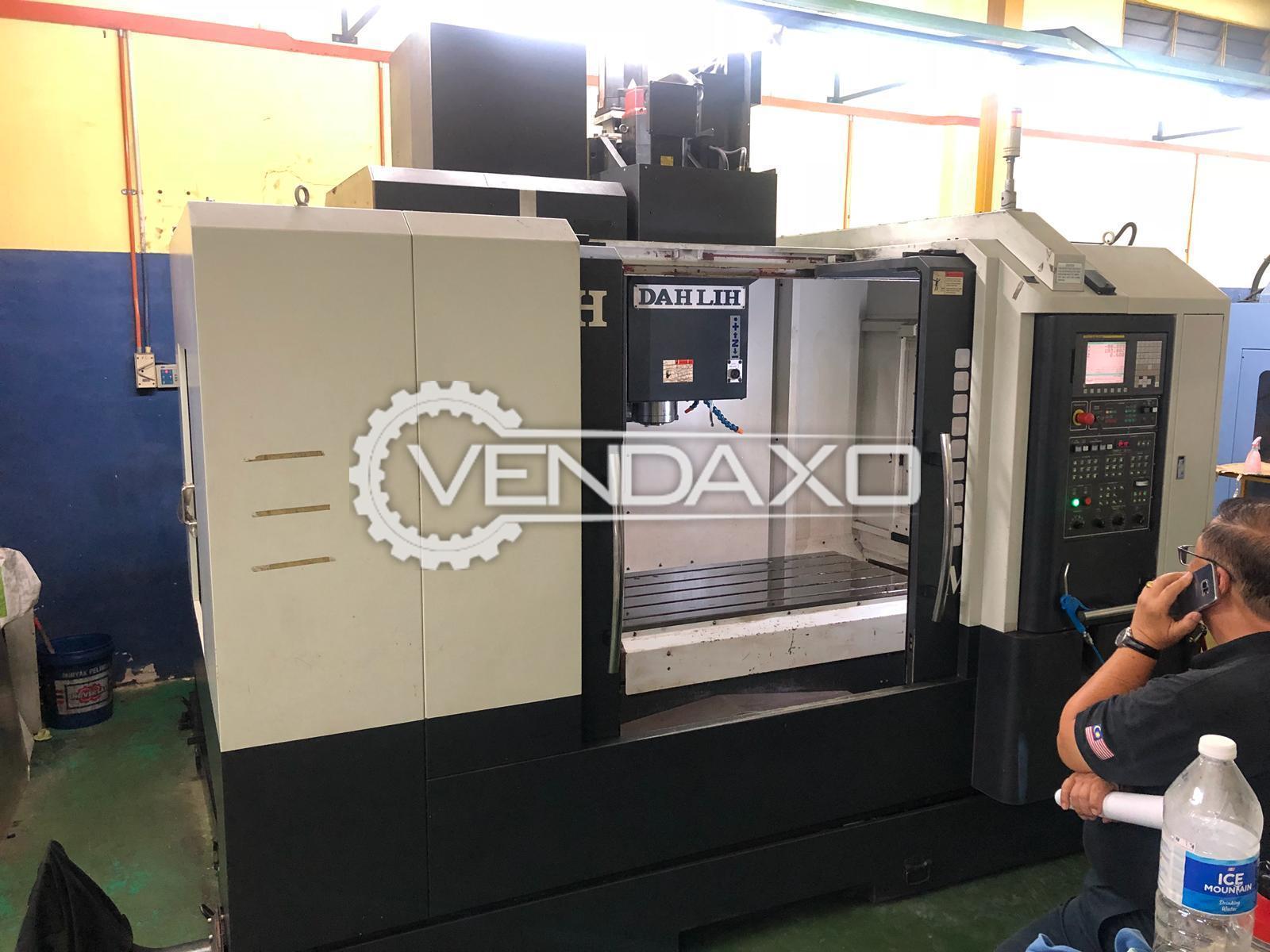 DAHLIH MCV-1200 CNC Vertical Machining Center - Table Size - 1220 x 620 MM