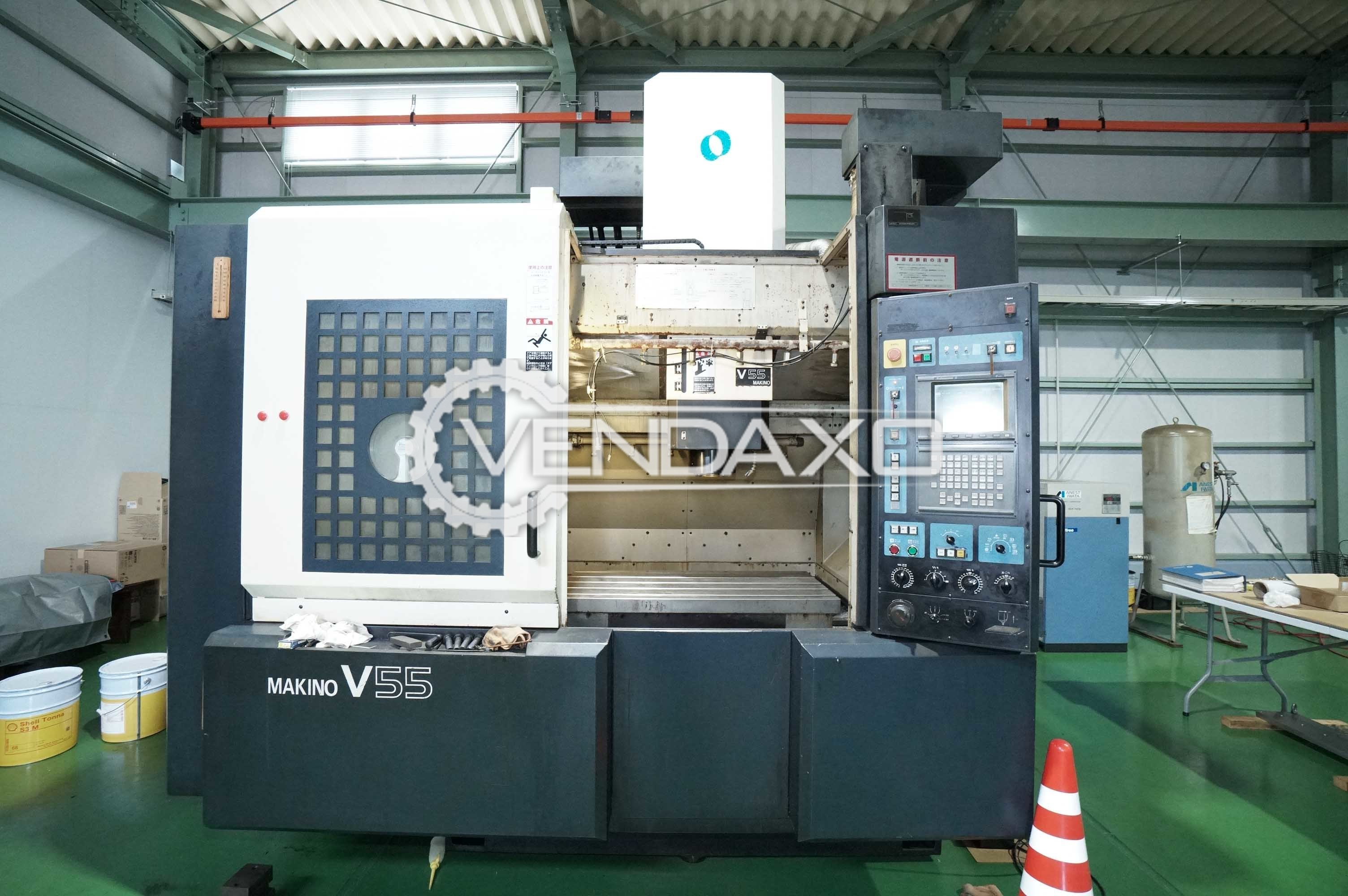MAKINO V55-C2 CNC Vertical Machining Center - Table Size - 1000 × 500 mm