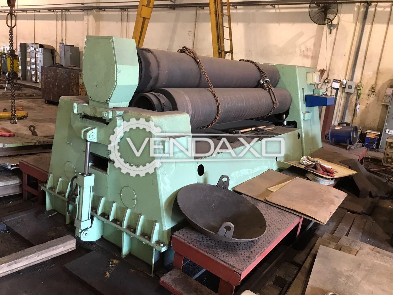 Plate bending machine 3