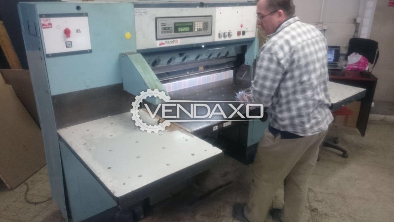 Perfecta 115-3 Paper Cutting Machine - Size - 45 Inch