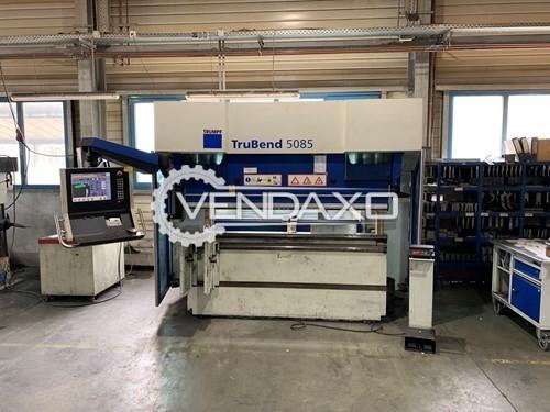 Trumpf TruBend 5085 CNC Press Brake Machine - 850 KN