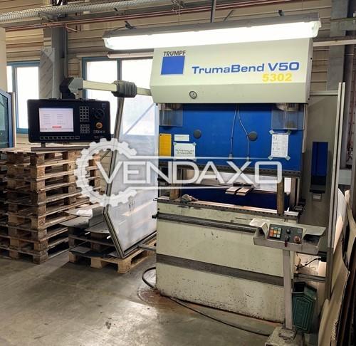 Trumpf TrumaBend V50 CNC Press Brake Machine - 500 KN