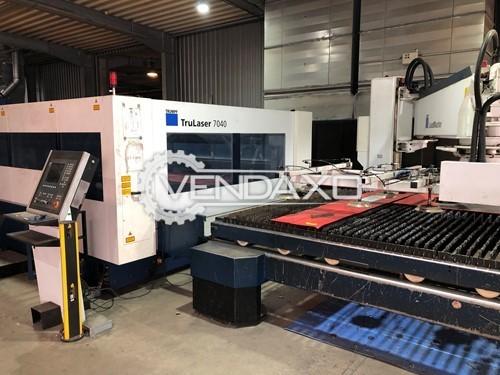 Trumpf TruLaser 7040 CNC laser Cutting Machine - 2500 X 4000 MM