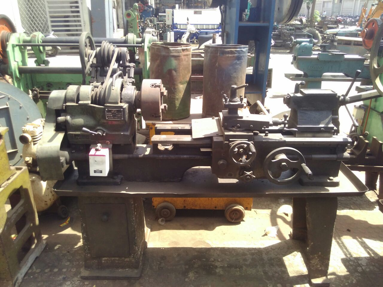 Lathe machine rajkot 2 year