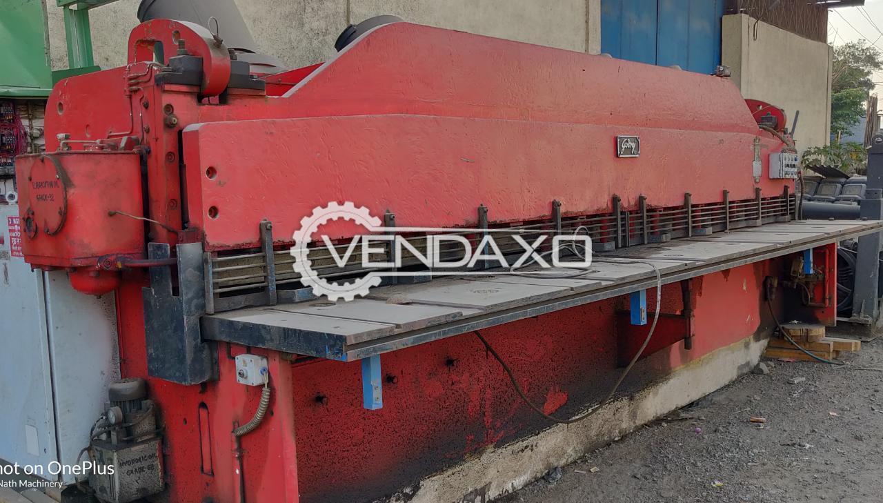 Godrej Shearing Machine - 3000mm×12mm