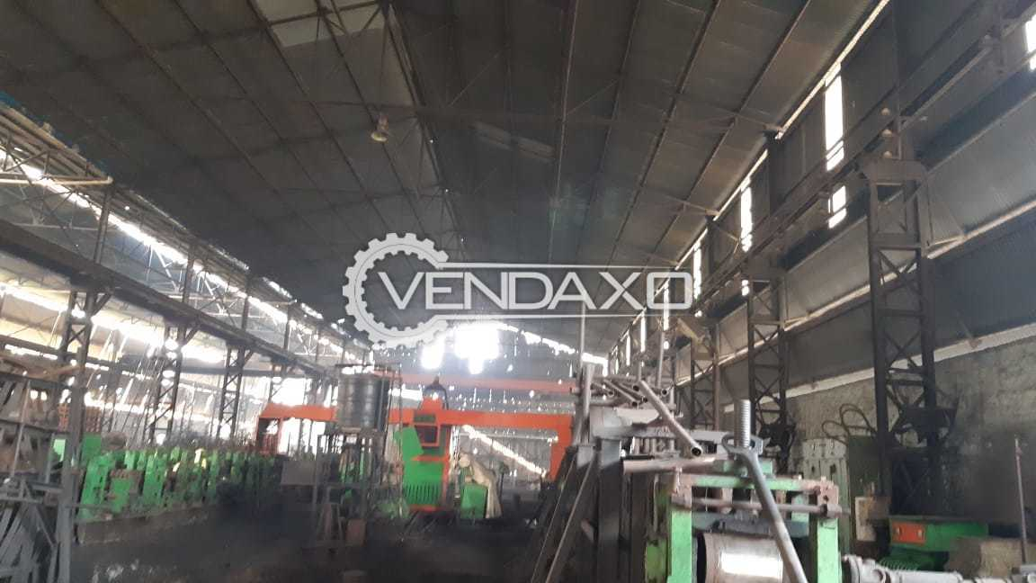 MS Tube Manufacturing Plant