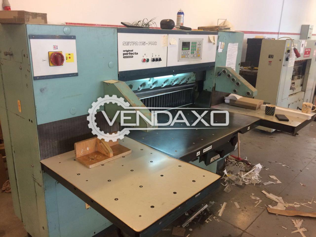 Perfecta 115-5PMC Paper Cutting Machine - Size - 45 Inch
