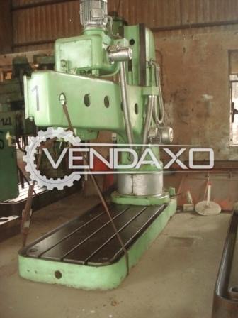 MAS VR 6 Boring Machine - Bore Stroke 160 mm