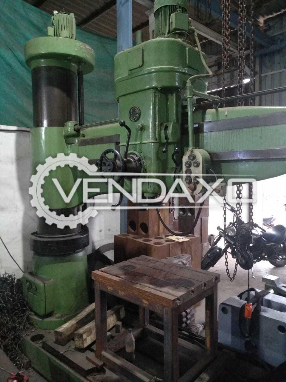 Radial Drill Machine - 80 mm
