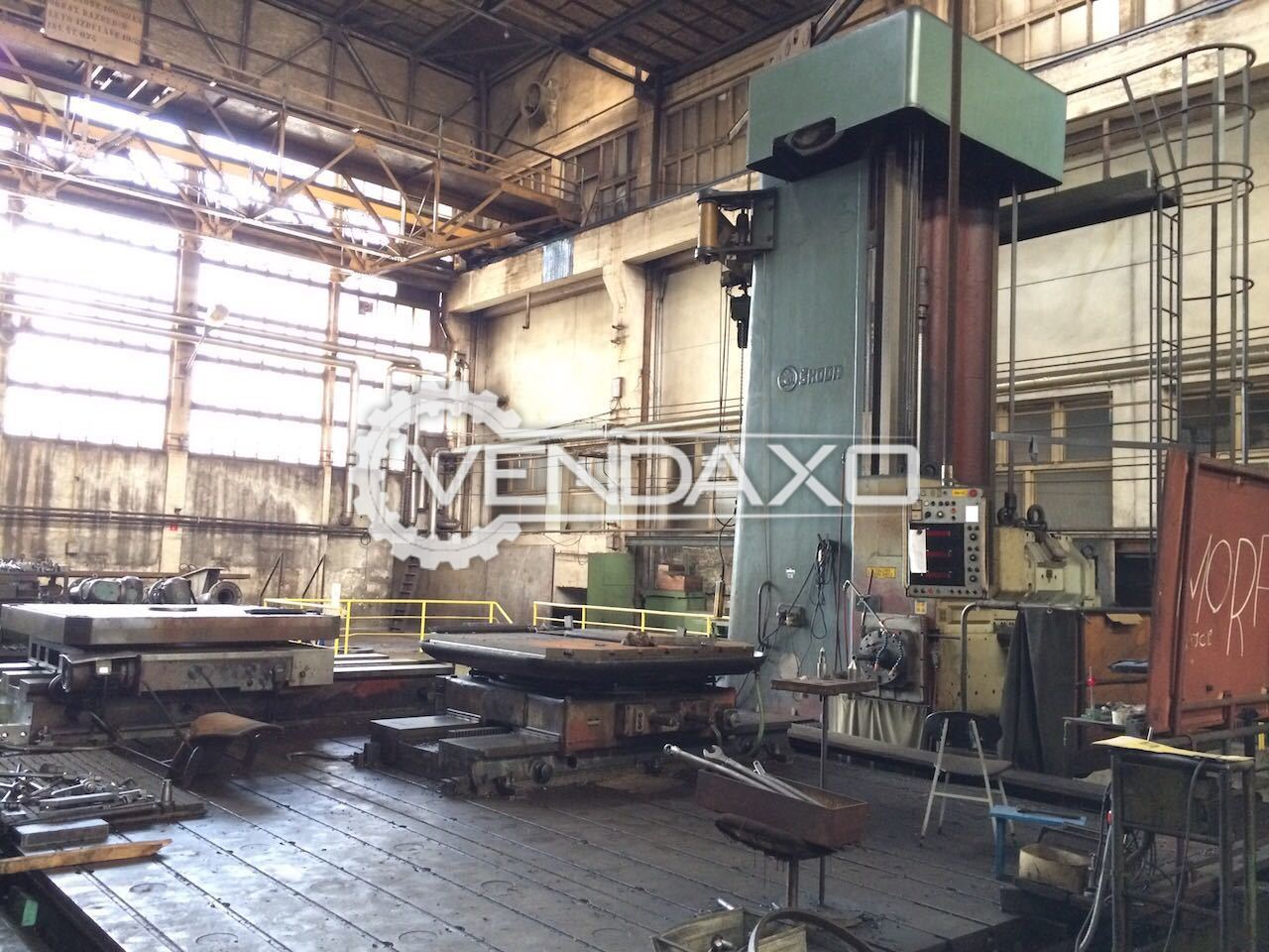 Skoda W160HA Floor Boring Machine - Spindle Size - 160 MM