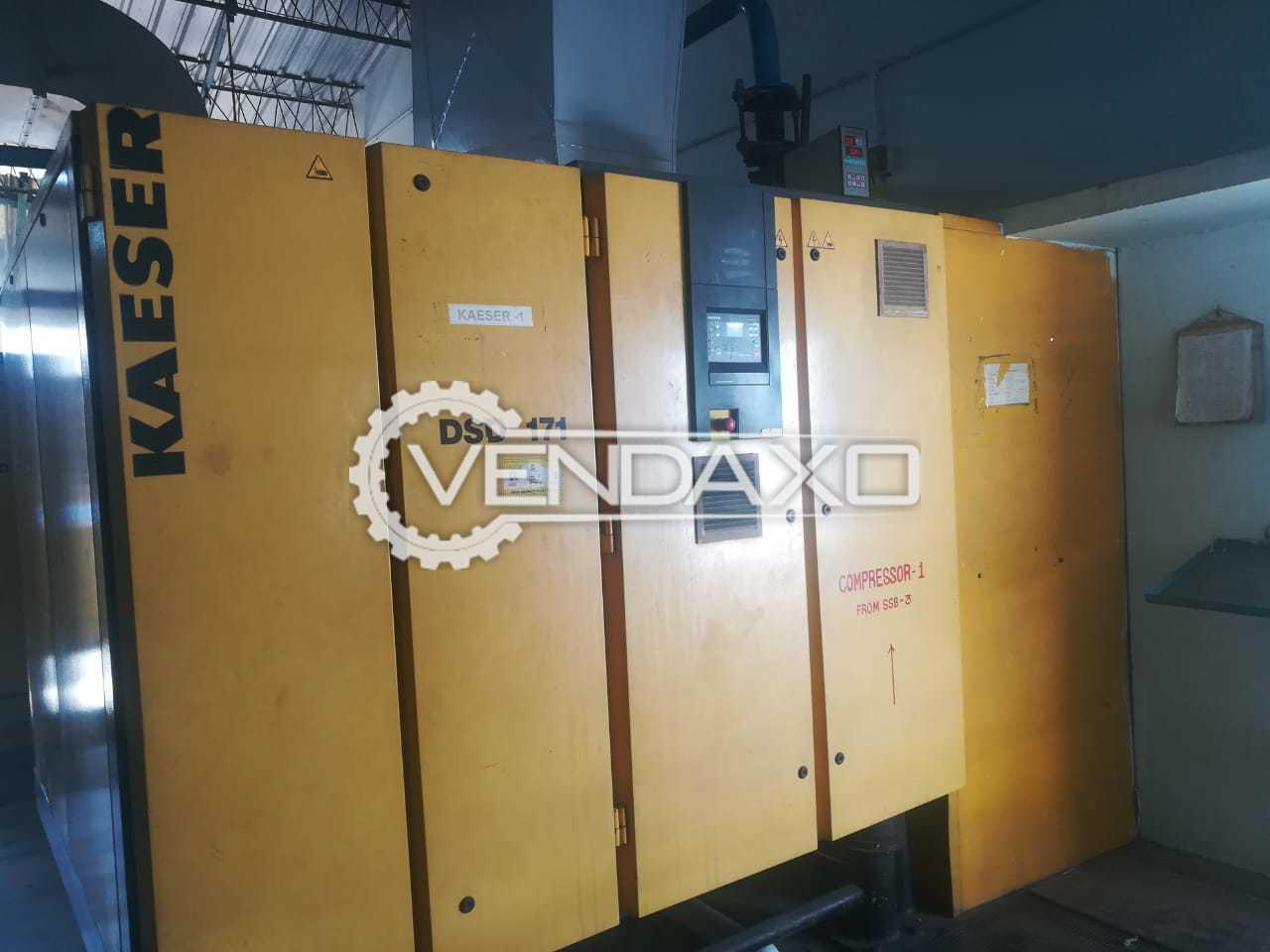 Kaeser DSD 171 Air Compressor - 120 HP