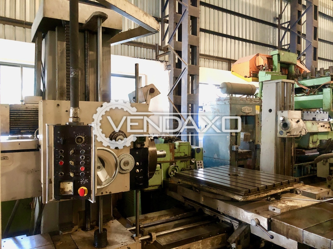 WMW Union BFT 80/3 Boring Machine - Spindle Size - 80 MM