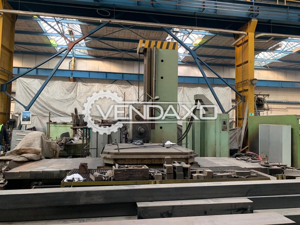 TOS WHN 13A Horizontal Table Type Boring Machine -  Spindle Size - 130mm