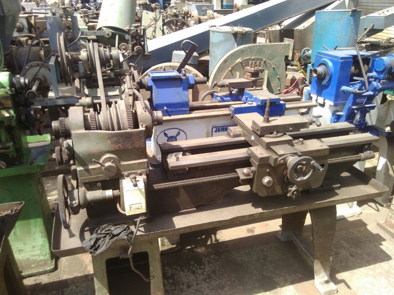 Lathe machine jamnagar 4 ft