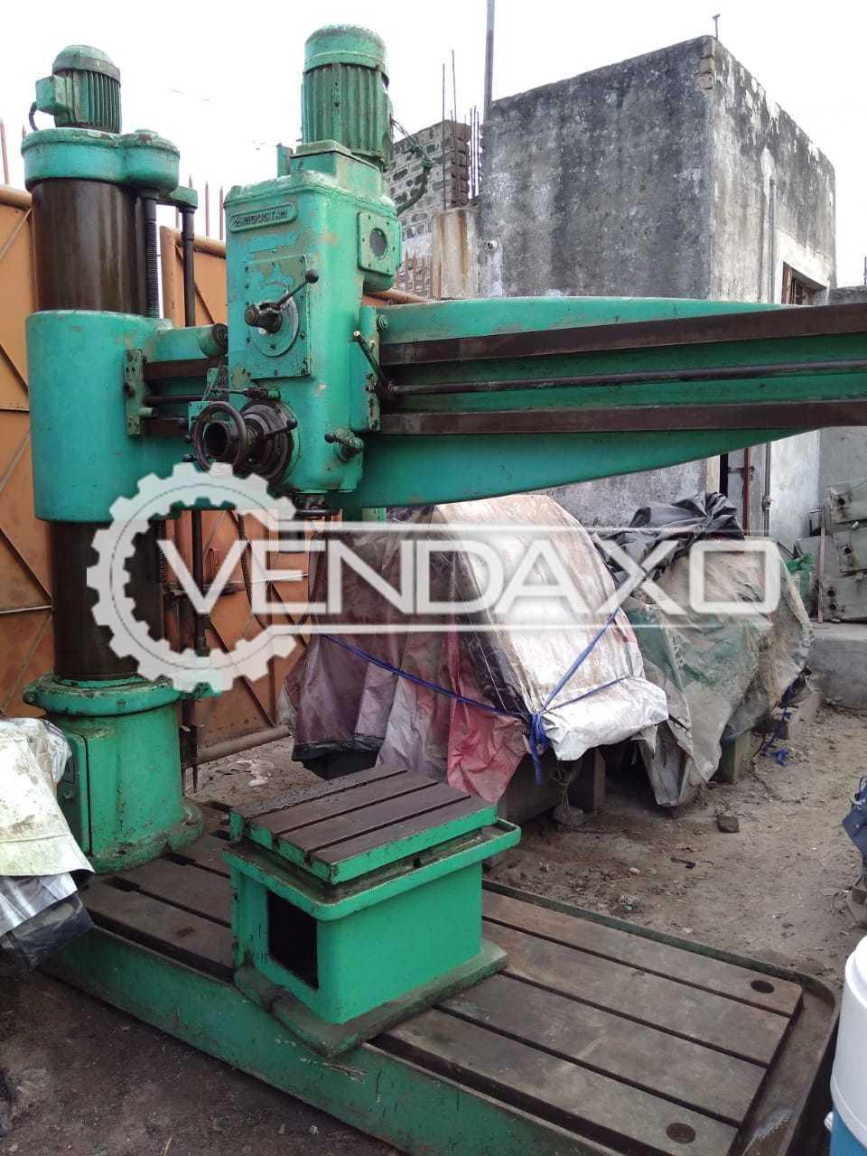 HMT RM65 Radial Drill Machine - 65 MM