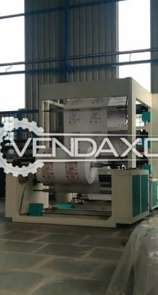 China Make Non Woven Printing Machine - Size - 48 Inch, 4 Color