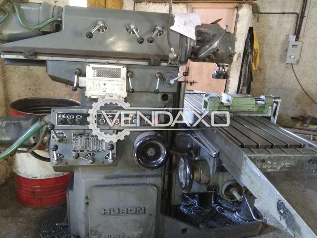 HURON Universal Milling Machine - 1200 x 500 mm