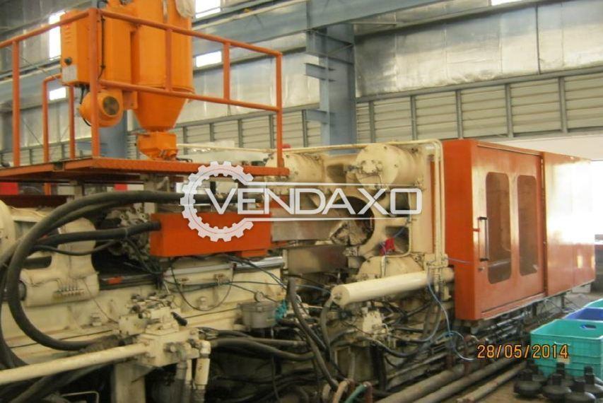 Godrej Sm 550 Injection Moulding Machine - 550 Ton