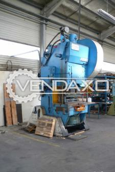 Bliss 140 c power press 140 ton