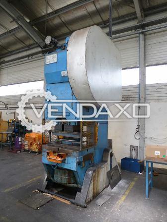 Bliss 140 c power press 140 ton 3