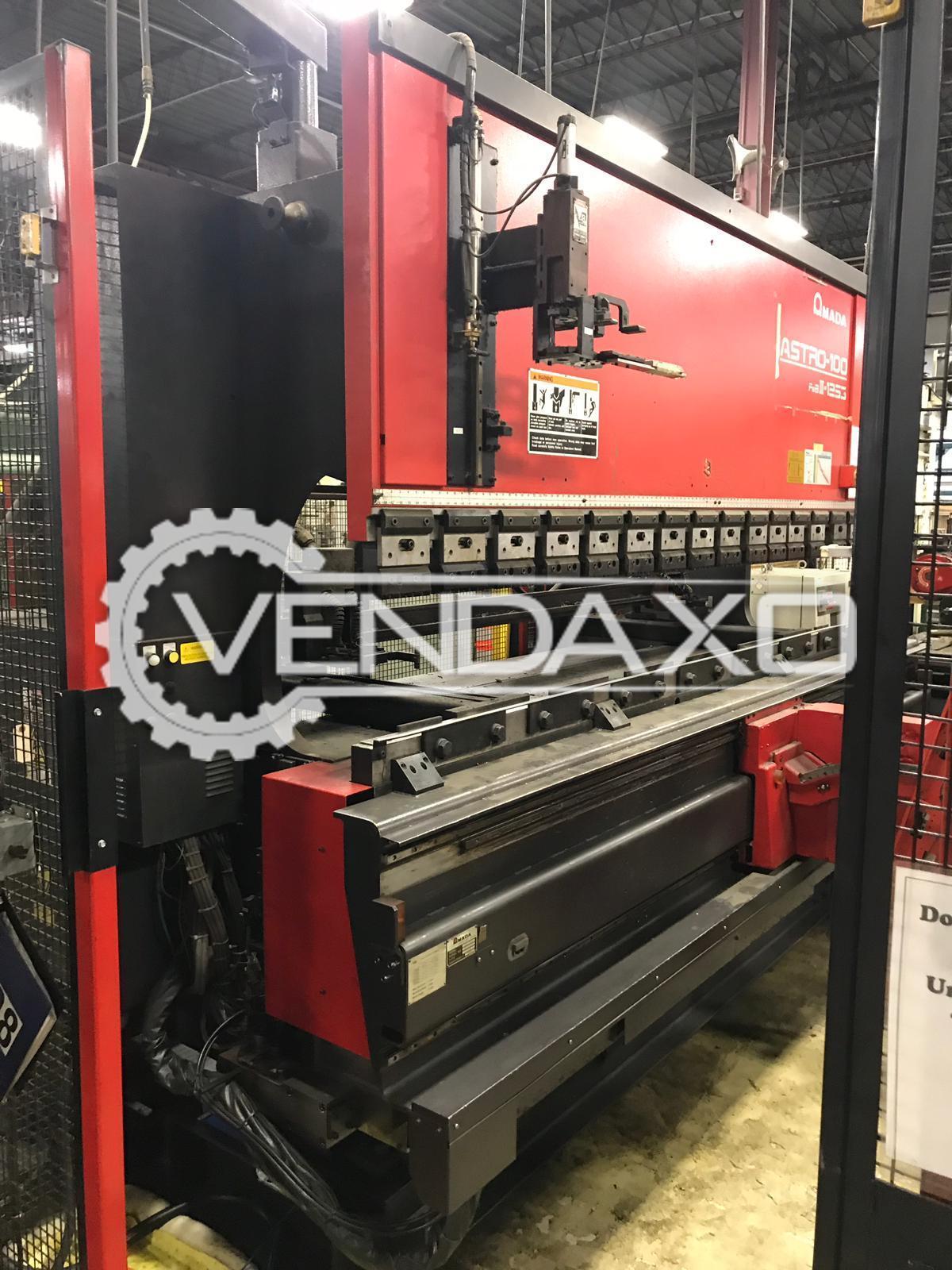 AMADA FBD-1253MH CNC Press Brake Machine - Cap. 125 Ton