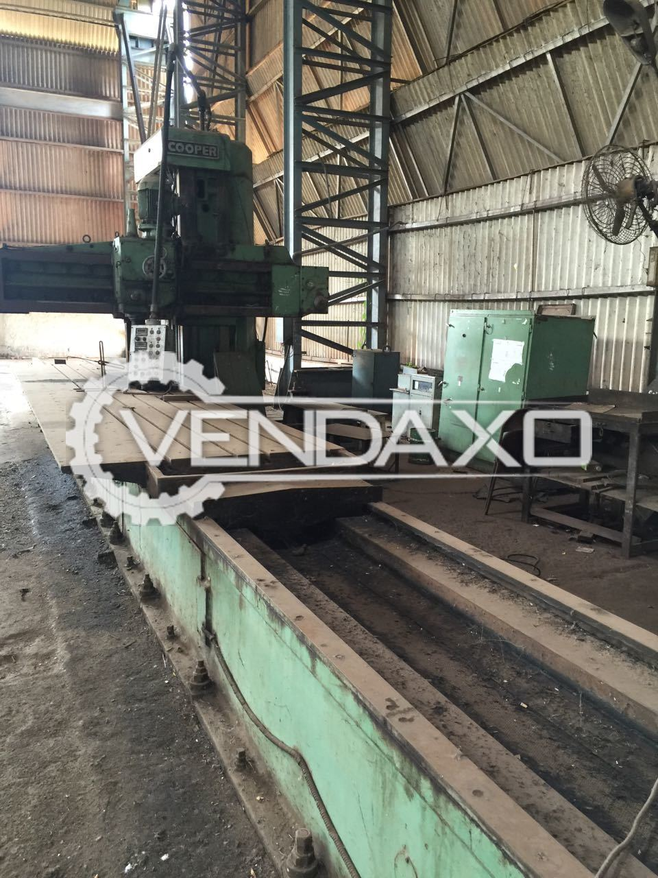 Cooper Plano Miller Machine - Table size - 7000 mm