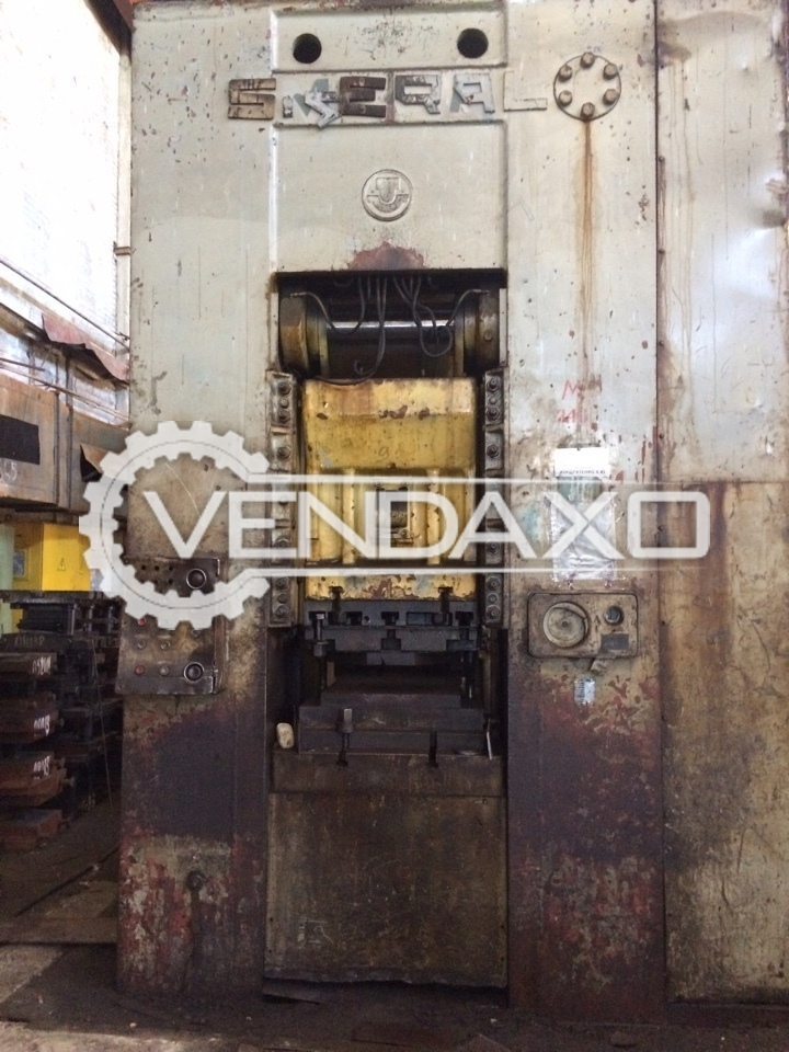 Smeral Knuckle Joint Press Machine - 1000 Ton