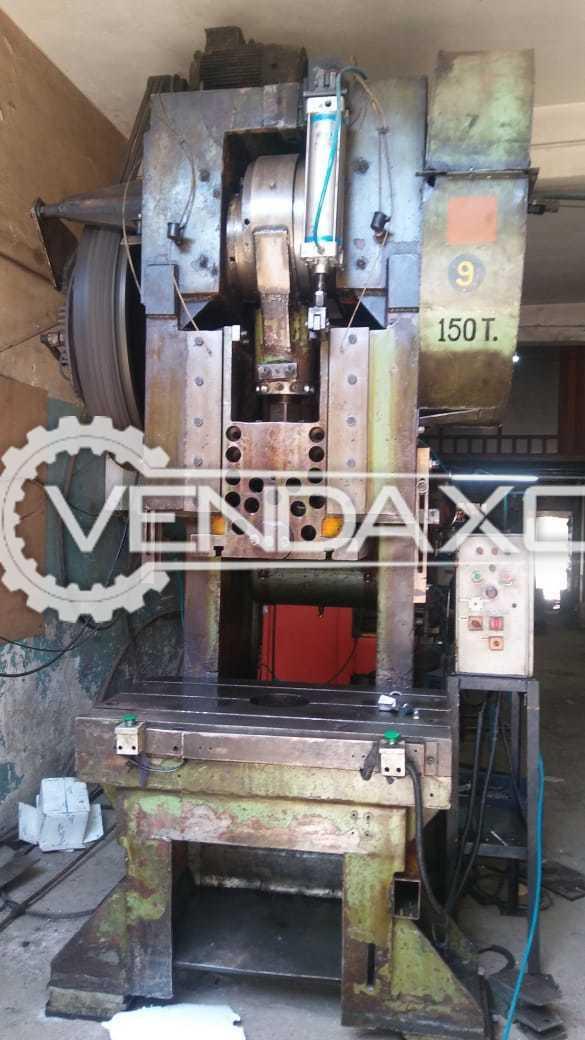 Indian Make  C Type Press Machine - 150 Ton