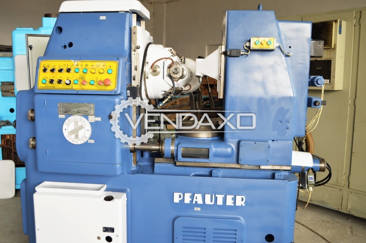 Pfauter P251 Gear Hobbing Machine - Diameter - 250 mm