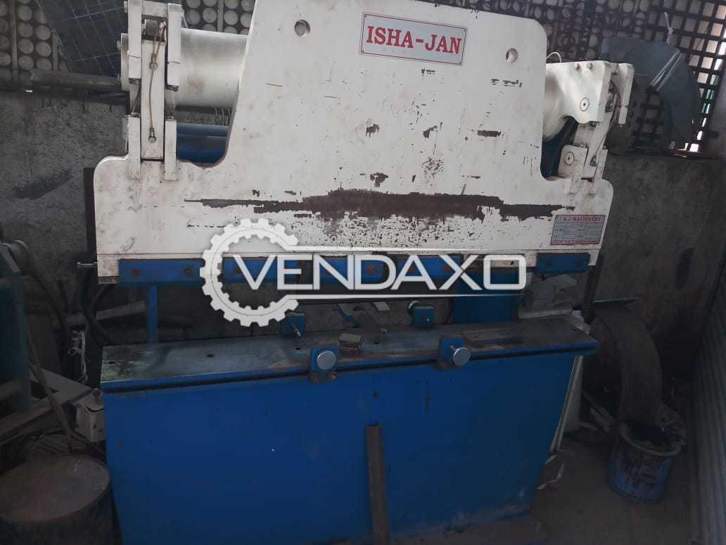 Hydraulic Press Brake Machine - 4.5 Feet  X 2 mm